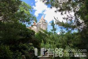 花费1亿美金,300人用3年建成的古堡,只为博自己老婆一乐